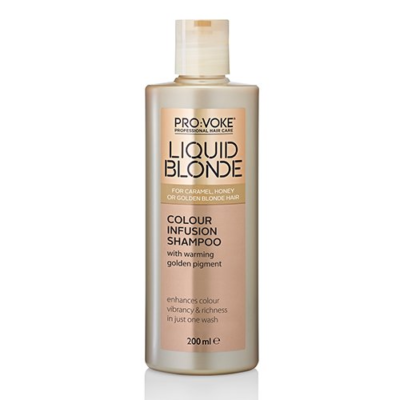 PRO:VOKE Liquid Blonde Colour Infusion Shampoo